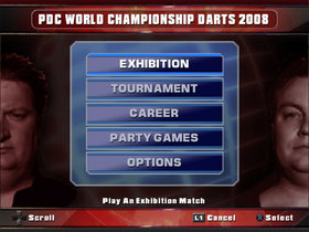 PDC World Championship Darts Screenshot from Shacknews