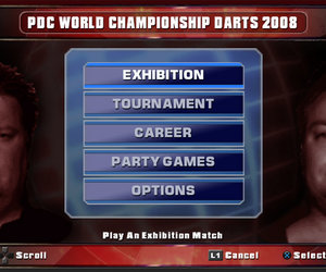 PDC World Championship Darts 2008 Screenshots