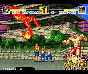 Fatal Fury Special Screenshots