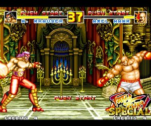 Fatal Fury Special Chat