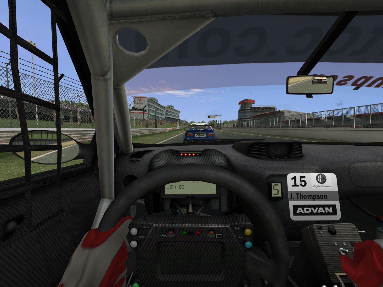 Особенности игры * Продолжение великолепной RACE - The WTCC Game