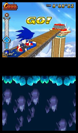 Sonic Rush Adventure Screenshots