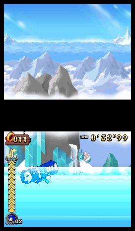 Sonic Rush Adventure Screenshots