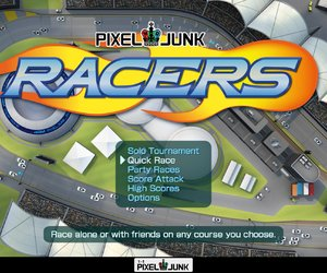 PixelJunk Racers Screenshots