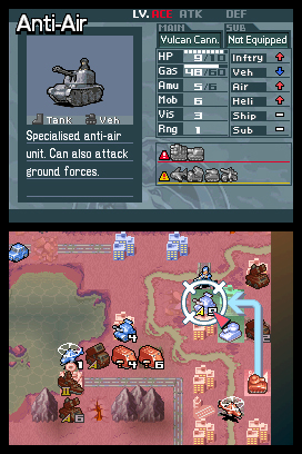Advance Wars: Days of Ruin Files