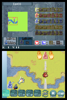 Advance Wars: Days of Ruin Screenshots
