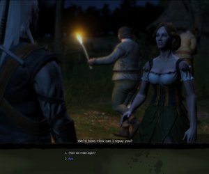 The Witcher Chat