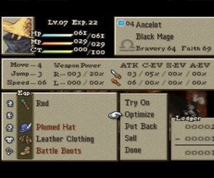 Final Fantasy Tactics: The War of the Lions Chat
