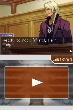 Apollo Justice: Ace Attorney Chat