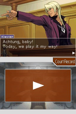 Apollo Justice: Ace Attorney Screenshots