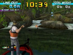 Sega Bass Fishing Screenshot from Shacknews