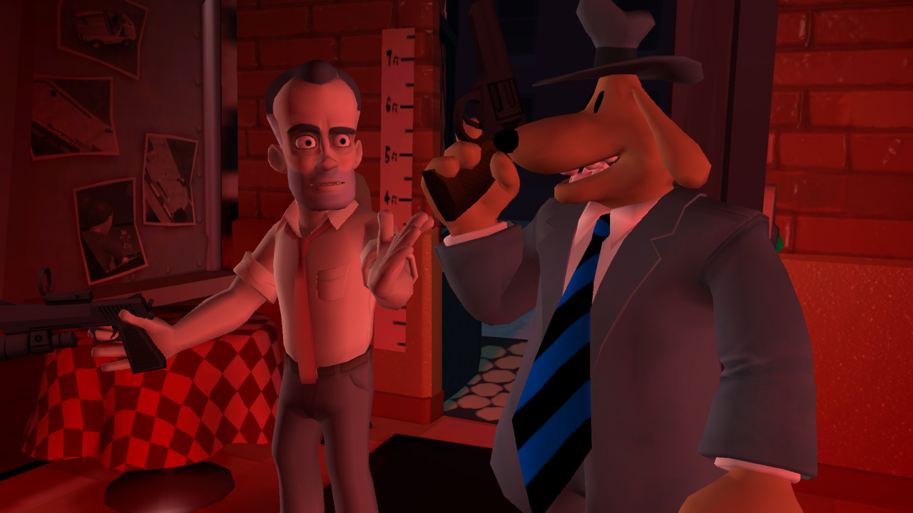 Sam & Max Episode 204 Chariots of the Dogs - скриншоты.
