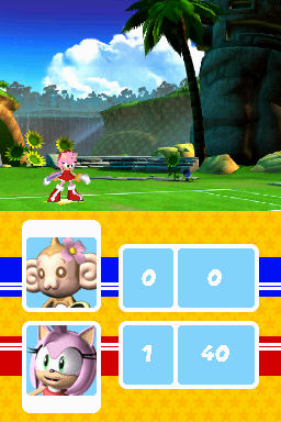 Sega Superstars Tennis Screenshots