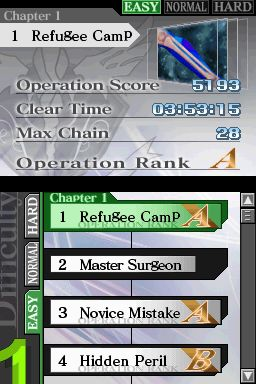 Trauma Center: Under the Knife 2 Chat