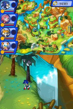 Sonic Chronicles: The Dark Brotherhood Screenshots