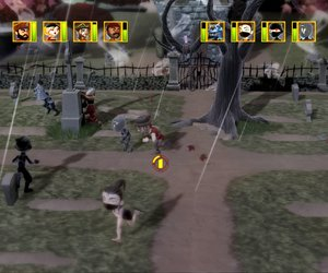Pirates vs. Ninjas Dodgeball Screenshots