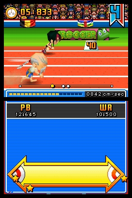New International Track and Field Screenshots