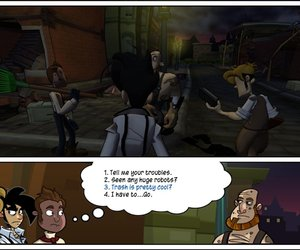 Penny Arcade Adventures: On the Rain-Slick Precipice of Darkness, Ep. 1 Screenshots