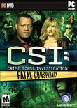 CSI: Fatal Conspiracy boxshot