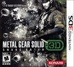 Metal Gear Solid Snake Eater 3D boxshot