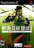 Metal Gear Solid 3: Subsistence boxshot