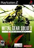 Metal Gear Solid 3: Subsistence boxshot