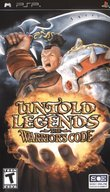 Untold Legends: The Warrior's Code boxshot