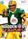 Madden NFL 09 All-Play boxshot