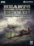 Hearts of Iron III: Their Finest Hour boxshot