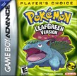 Pokemon FireRed and LeafGreen boxshot