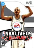 NBA Live 09 All-Play boxshot