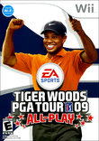 Tiger Woods PGA Tour 09 All-Play boxshot
