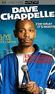Dave Chappelle: For What It's Worth boxshot
