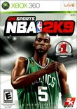 NBA 2K9 boxshot