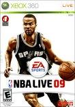 NBA Live 09 boxshot