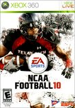 NCAA Football 10 boxshot