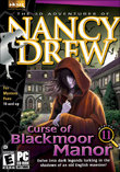 Nancy Drew: Curse of the Blackmoor Manor boxshot