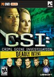 CSI: Deadly Intent boxshot