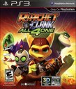 Ratchet & Clank: All 4 One boxshot