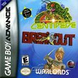 Breakout - Centipede - Warlords boxshot