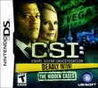 CSI: Deadly Intent – The Hidden Cases boxshot