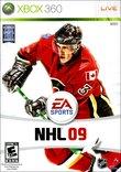 NHL 09 boxshot