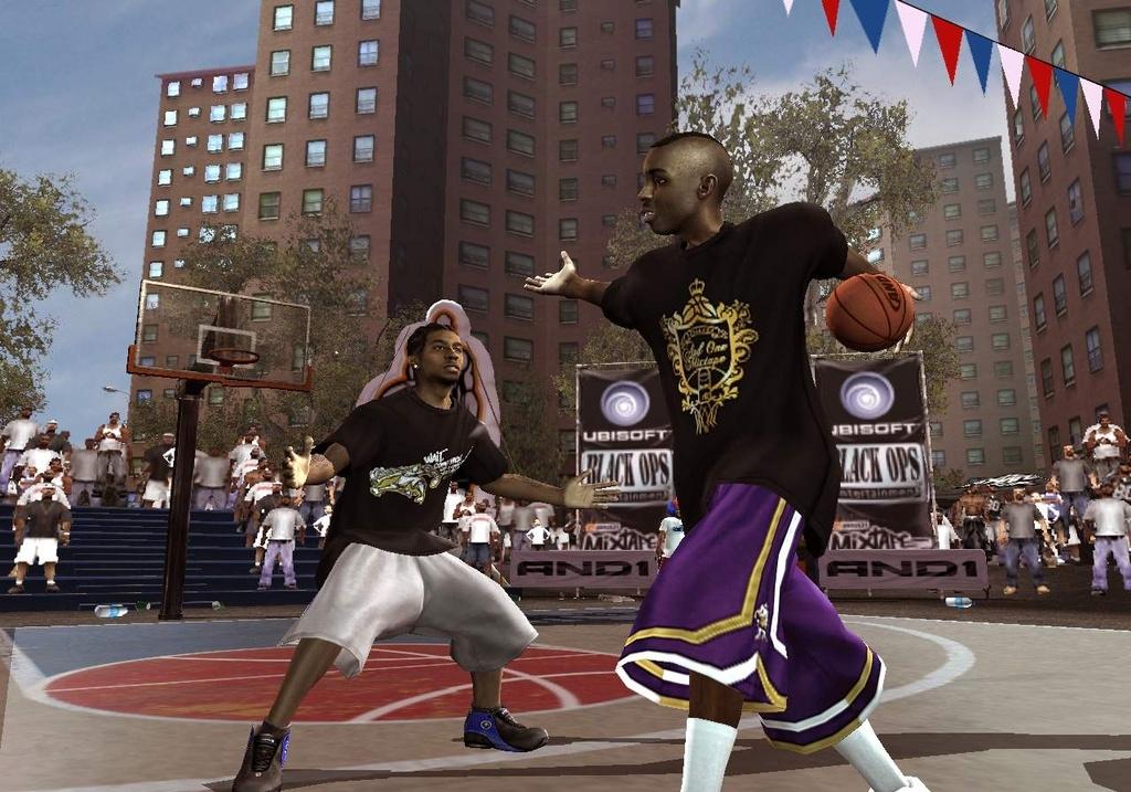 And 1 Streetball Screenshots - Video Game News, Videos ...