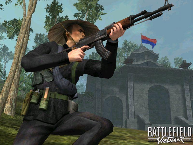 Battlefield Vietnam Кровавые Джунгли PC.