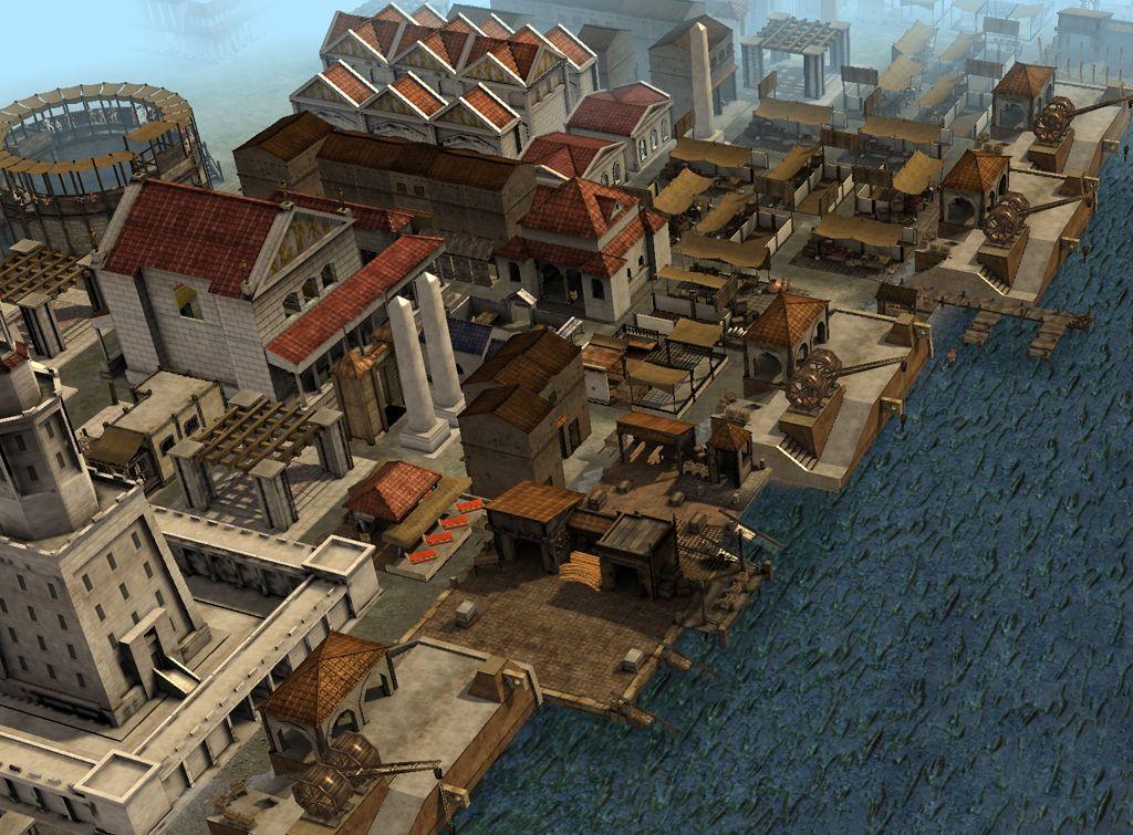 Building slots rome 2