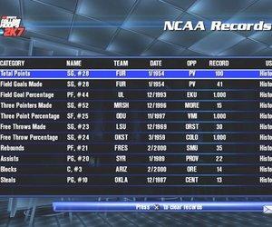 College Hoops 2K7 Screenshots