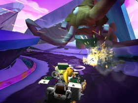 Crash Tag Team Racing Screenshot from Shacknews