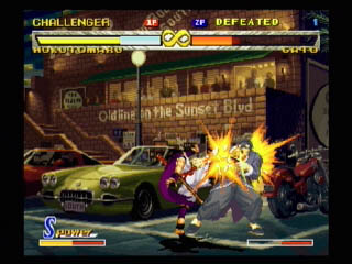 Fatal Fury: Mark of the Wolves Screenshots