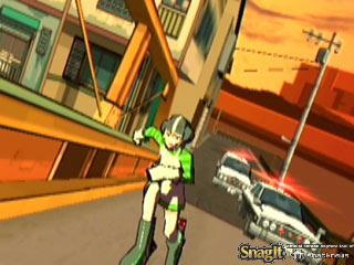 Jet Grind Radio Screenshots