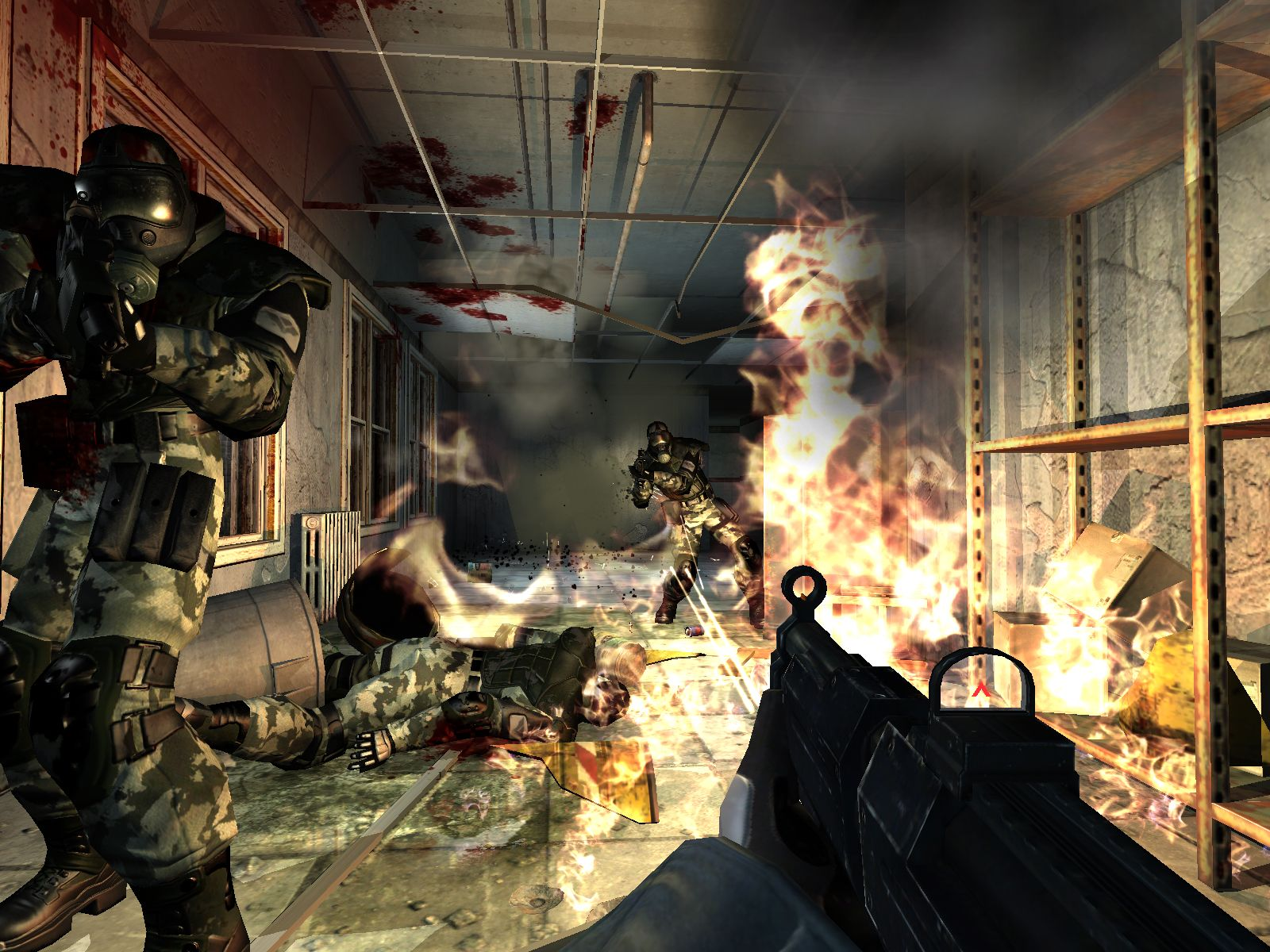 Русификатор Fear Extraction Point